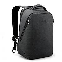 """Стильный городской рюкзак антивор на 21л TIGERNU T-B3164 спортивный , сумка для ноутбука 14"""" с USB, Черный"""