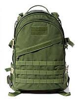 Тактический рюкзак Штурмовой Военный Туристический Tactical 3D Зеленый на 40 литров