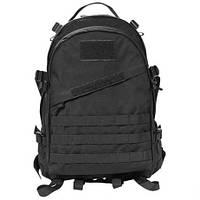 Тактический рюкзак Штурмовой Военный Туристический Tactical 3D Черный на 40 литров