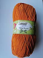"Lanoso Baby Dream ""1906"" терракот нитки для вязания"