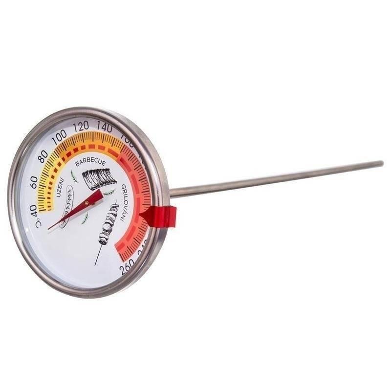 Термометр для коптильні Orion 40...260 °C щуп 33 см