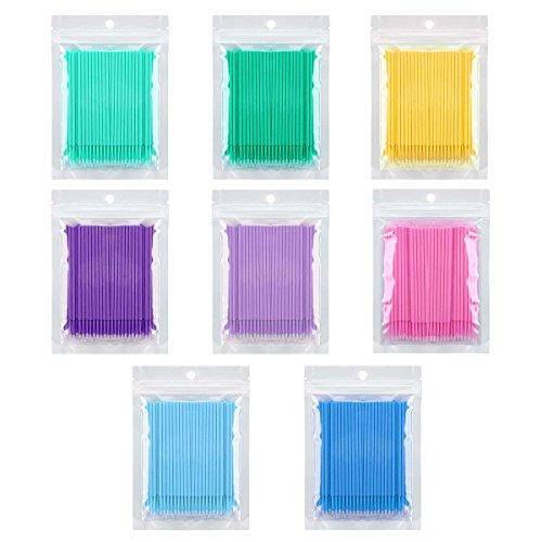 Микробраш для ресниц - Темно-синий 100 шт (пакет)