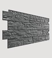 Фасадная панель Docke Stein антрацитовая (песчаник)