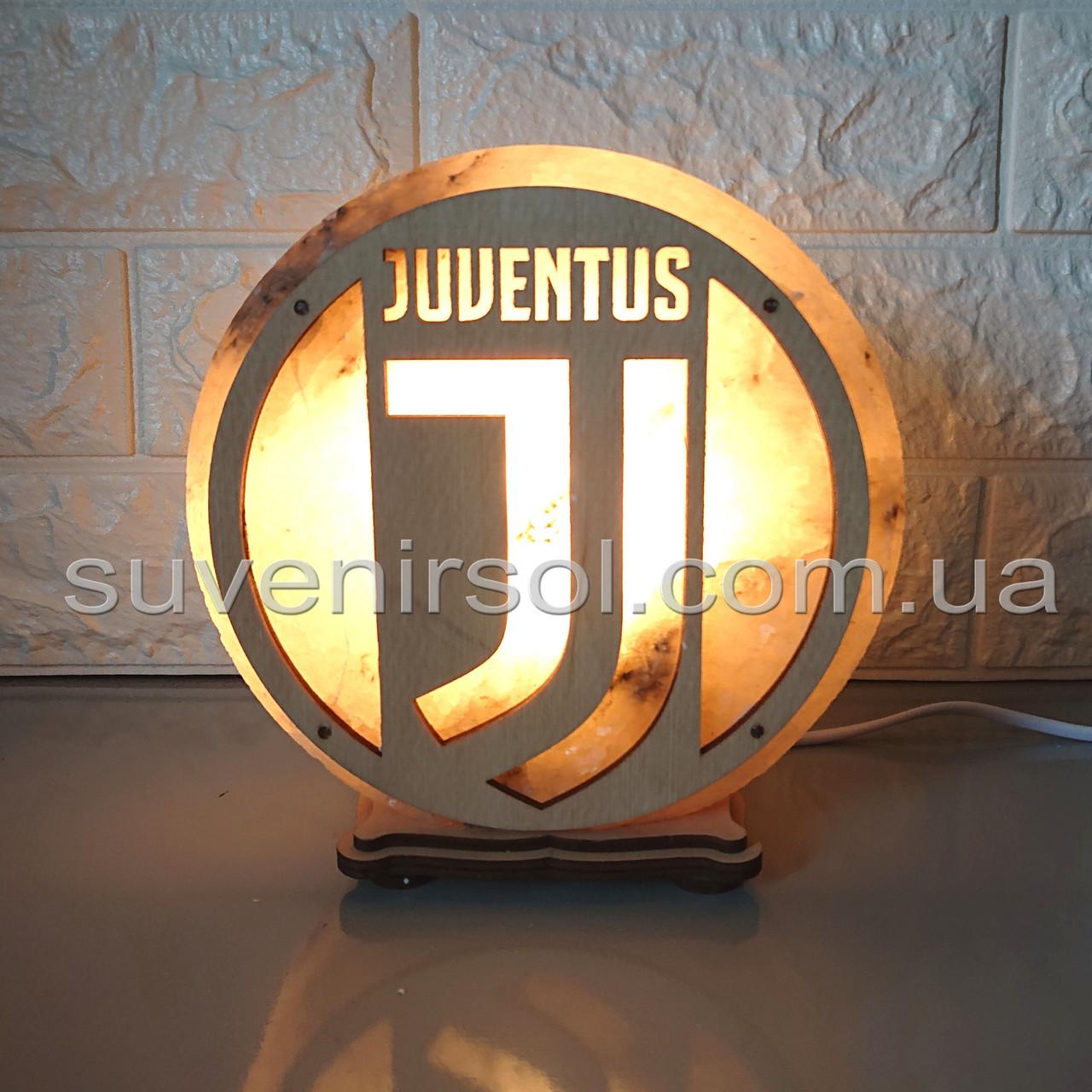 Соляной светильник круглый Ювентус