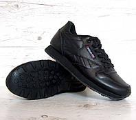 Р. 36-40. женские кроссовки Reebok Classik. реплика натуральная кожа