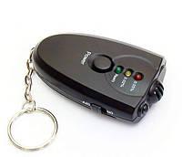 Алкотестер брелок с фонариком Alcohol Tester