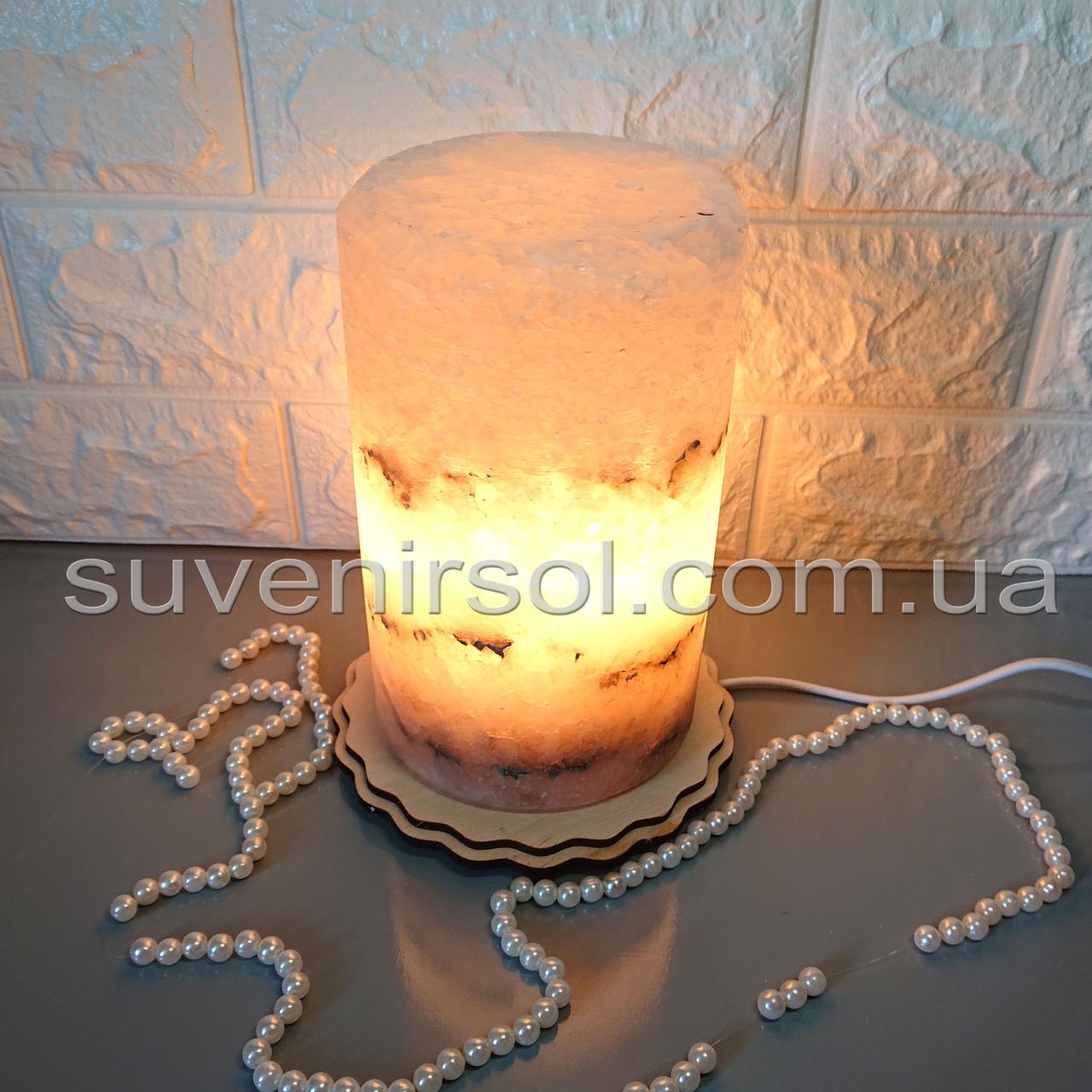 Соляной светильник Цилиндр большой