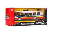 Троллейбус AS-2438(Red) АвтоСвіт, металл, инер-й