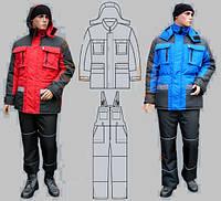 Костюм рабочий утепленный от производителя, рабочая одежда зимняя, спецодежда, утепленная курточка