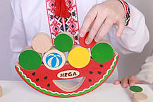 Балансир Арбуз Обжорка HEGA 107, фото 3