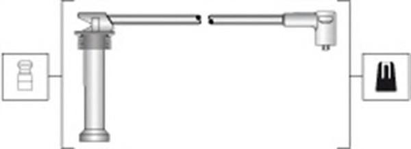 MSK1300 К-т проводов зажигания