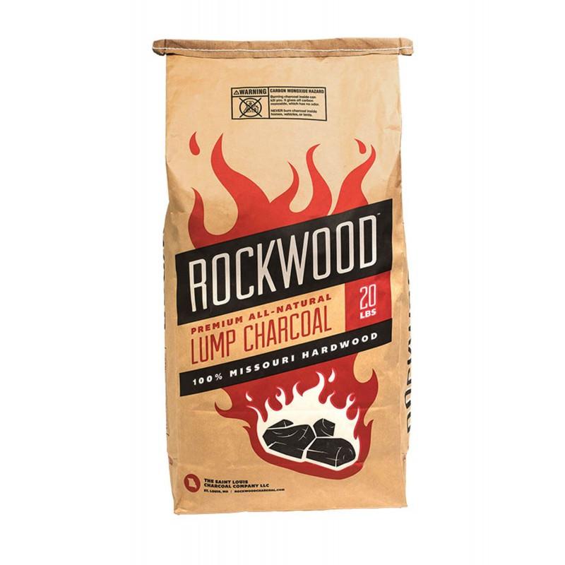 Древесный американский уголь для гриля Rockwood, 9,1 кг. - RW20