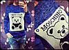 Свитер вязаный Москино (разные расцветки), фото 3