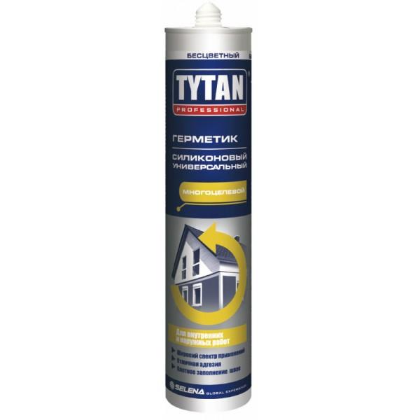 Герметик силіконовий універсальний безбарвний Tytan 280 мл
