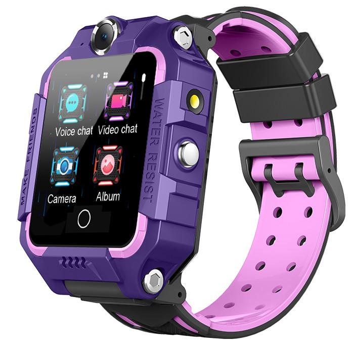 Смарт-часы детские с GPS Brave T10N, фиолетовые