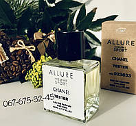 Тестер Chanel Allure Homme Sport Духи мужские Концентрат Шанель Аллюр хом Спорт туалетная вода парфуми Tester