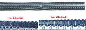 Виниловые траки для сборных пластиковых моделей БМП-1/БМП-2. 1/72 ACE R007