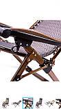 Шезлонг кресло для отдыха на природе 160 кг, фото 8