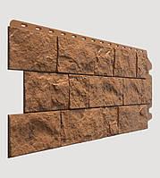 Фасадная панель Docke Fels терракотовая (скала)