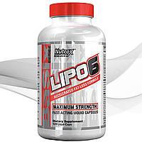 Жиросжигатель Nutrex Lipo-6 Liqui caps Maximum Strength 120 caps