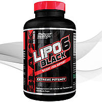 Жиросжигатель Nutrex Lipo-6 Black Ultra concentrate 60 капсул