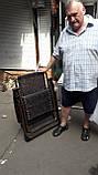 Шезлонг кресло для отдыха на природе 160 кг, фото 2