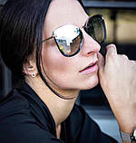 Женские солнцезащитные очки в стиле Tom Ford (7297) rose, фото 3