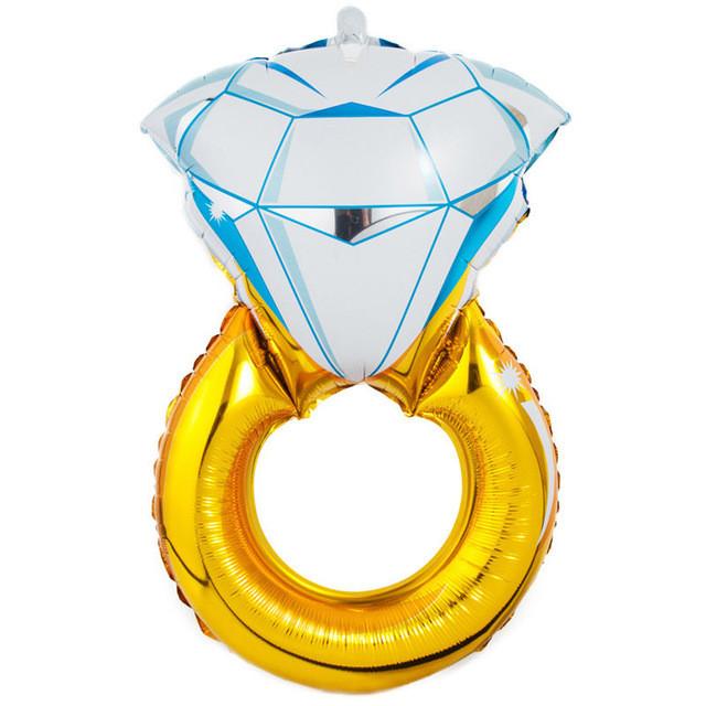 Фол шар фигура Обручальное кольцо Золото (Китай)