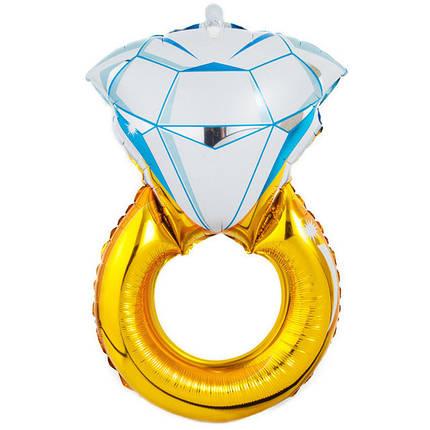Фол шар фигура Обручальное кольцо Золото (Китай), фото 2
