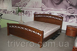 Кровать двуспальная дуб, 1800*2000