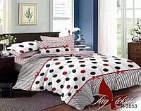 ✅  Комплект постельного белья двуспальный Евро (Ранфорс) TAG R3053