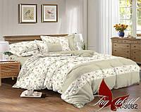 ✅  Комплект постельного белья двуспальный Евро (Ранфорс) TAG R3082