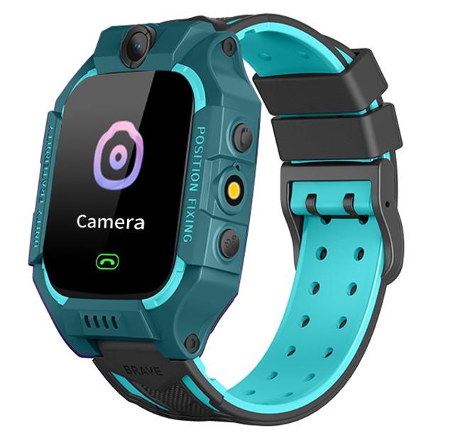 Смарт-часы детские с GPS Brave Q19, голубые