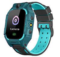 Смарт-часы детские с GPS Brave Q19, голубые, фото 1