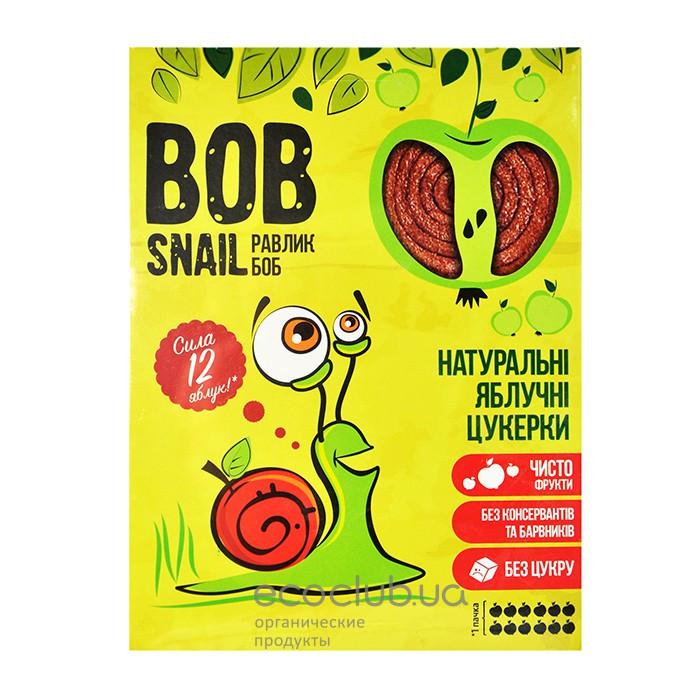 Пастила Яблоко  Равлик Боб без сахара Bob Snail , 120 г, в упаковке 12 конфет в виде спирали