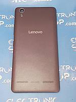 Крышка корпуса с кнопками Lenovo A6010 черная б.у