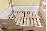 Детская Кровать домик из натурального дерева 1400*2000, фото 3