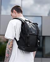 """Прочный мужской рюкзак """"AVIAPACK """" на 17л, спортивний городской для путешествий, сумка для ноутбука, Чёрный"""