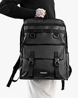 """Прочный мужской рюкзак """"CROSS-TOWN"""" на 19л, спортивний городской для путешествий, сумка для ноутбука, Черный"""