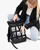 """Женский рюкзак """"MESH 1"""" принт  (со съёмной сеткой) на 17л, водоотталкивающий, сумка для ноутбука, повседневный"""