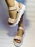 Модные босоножки на платформе.Пудра.  37. 39. Турция, фото 7