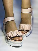 Модні босоніжки на платформі.Пудра. 37. 39. Туреччина, фото 6