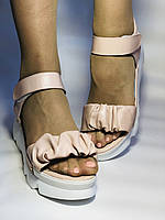 Модные босоножки на платформе.Пудра.  37. 39. Турция, фото 6