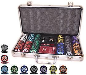"""Профессиональный покерный набор """"Poker Star"""" 300 фишек по 14 грамм"""