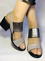 Женские босоножки  на невысоком каблуке.Размер 36, 39.  Турция.Магазин Vellena, фото 2