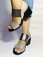 Женские босоножки  на невысоком каблуке.Размер 36, 39.  Турция.Магазин Vellena, фото 4