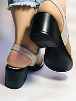 Женские босоножки  на невысоком каблуке.Размер 36, 39.  Турция.Магазин Vellena, фото 5