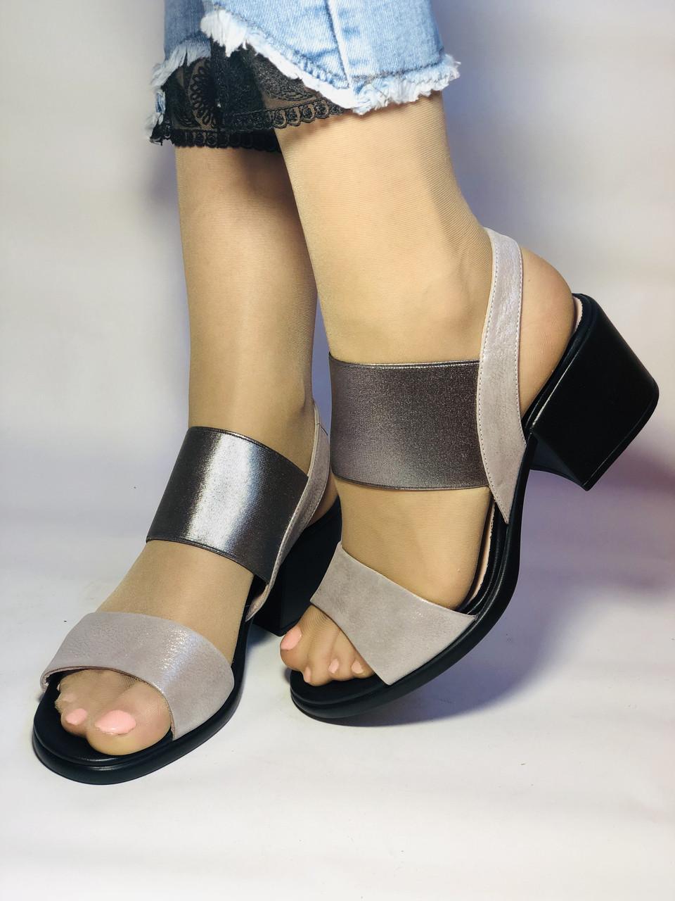 Женские босоножки  на невысоком каблуке.Размер 36, 39.  Турция.Магазин Vellena