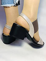 Женские босоножки  на невысоком каблуке.Размер 36, 39.  Турция.Магазин Vellena, фото 6