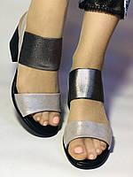 Женские босоножки  на невысоком каблуке.Размер 36, 39.  Турция.Магазин Vellena, фото 7